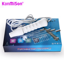 KONMISON High Frequency Electrode Glass Tube Electrotherapy Beauty Device Skin Care Facial Spa Salon Beauty Acne Remover(China)