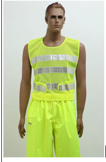Fluorescent  traffic vest reflective safety  clothing clothes  V82913<br><br>Aliexpress