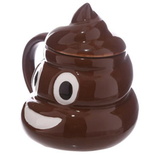Funny Kuso Shit Creative Ceramic funny Coffee Cup Kawaii Emoji Tea Cup Porcelain Zakka Novelty for Friend April Fools'Day Gift(China)