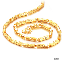 Men's Jewelry  Gold-color necklace domineering personality Europe and foreign trade jewelry KL438
