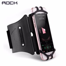 Universal Professional Sports Armband for running fitness cycling, ROCK Armlet arm band for 4-6 inch Phone devices(China)