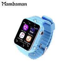 Children Security Anti Lost GPS Tracker smart watch V7K 1.54'' With camera facebook Kids SOS For Iphone&Android xiaomi PK Q90