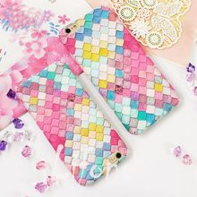 Kerzzil Fashion Colorful Mermaid Fish scales Hard Case For iPhone 7 6 6S Plus Phone cover For iPhone 6 6S Back Capa qian(China)