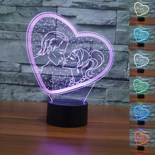 Colorful USB Valentine's Day Heart web Table Lamp Luminaria LED Night Light Remote Switch Decorative lighting Atmosphere lamps