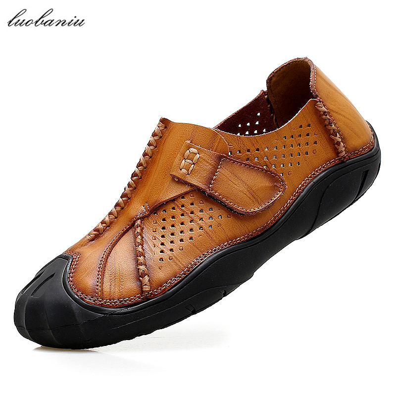 Brand Men Shoes Casual Breathable Moccasins Men Loafers High Quality Men Leather Shoes Slip On<br>