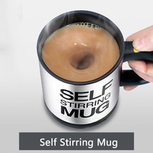 400Ml Self Stirring Mug Electric Lazy Automatic Coffee Cup Milk Mixing Self Stirring mixing Cup Stainless Steel