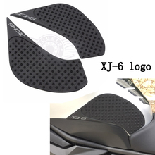 Motorcycle Tank Pad Protector Sticker Decal Gas Knee Grip Tank Traction Pad Side For YAMAHA XJ6 XJ-6 2010 2011 2012 2013 2014-16