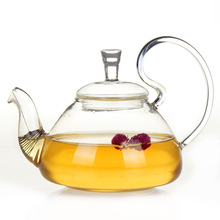 700CC Glass Tea Pot Chinese Kung Fu Kettle with Infuser Heat-resistant  Drinkware