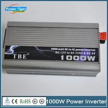 1000W TBE Hot Sale Car Power Inverter DC 12V To AC 220V 1KW Modified Sine Wave Power Inverter With Cigarette Lighter For Cars