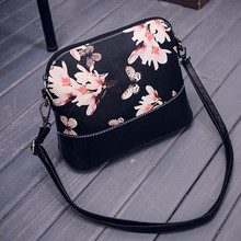 Indira New Fashion Women Crossbody Bag Casual Printing Shoulder Bags Leather Purse Satchel Messenger Bag Female