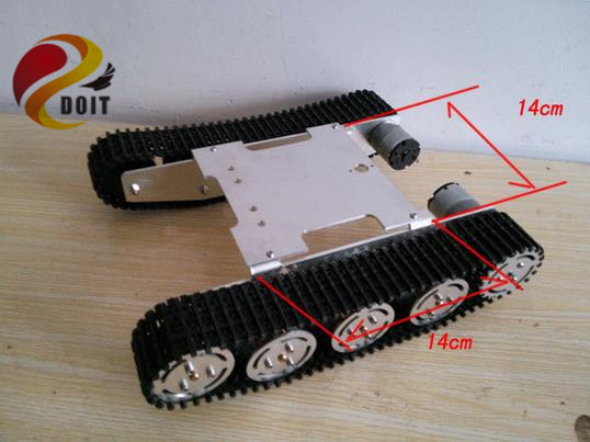 Official DOIT Update Version Tank Car Chassis Crawler Intelligent Diy Robot Electronic Toy ,Development Kit Tractor Toy<br><br>Aliexpress