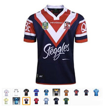 17 kinds Rugby shirts Iron Australia Cricket top quality breathable Cowboys South Africa Rugby Jersey T-shirts Jersey S-3XL(China)