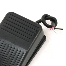 JFBL SPDT Nonslip Metal Momentary Electric Power Foot Pedal Switch