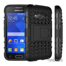 For Samsung Galaxy Ace 4 NXT Case G313 Heavy Duty Armor Shockproof Hard Silicone Rubber Cover For Galaxy Trend 2 Lite G318 (<(China)