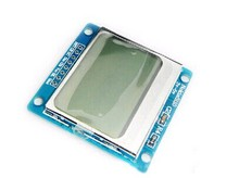 10pcs New Module White backlight 84*48 84x84 LCD adapter PCB for Nokia 5110 for Arduino
