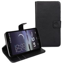 Mobile Phone Cover Bag Fashion Wallet Style PU Leather Case For LG G Flex D958 Shell Flip Stand With Card Slot Holder Back Skin