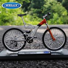Welly 1:10 Audi bike model ADIECAST MODEL COLLECTIONS 1:10 RACING BIKE BICYCLE REPLICA TOY Free Shipping