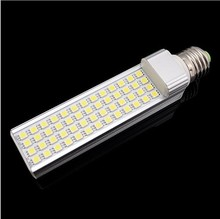 Direct factory lights 13Watt SMD5050 52Leds Horizontal LED G24 G23 E27 lampadas Corn bulb White home lamp AC85-265V Ampoule