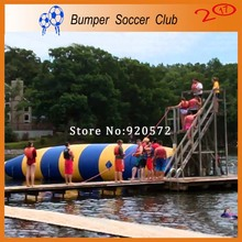 Free Shipping ! Free Pump ! 7x3m Water Inflatable Game Inflatable Water Blob,Aqua Blob Jump ,Water Catapult Blob For Sale