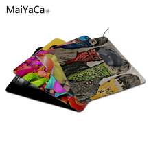 MaiYaCa The best choice for gifts The beatles drawing Rubber Soft aming Mouse ames Black Mouse pad Not Overlock Mouse Pad