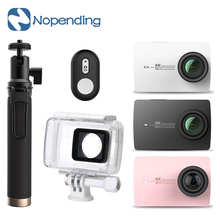 "IN STOCK!! Original Xiaoyi YI 4K  2Action Camera 2.19"" Retina Screen Ambarella A9SE75 Sports Camera International Edition"