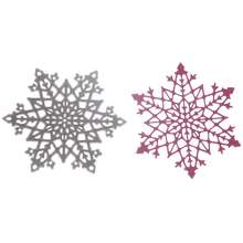 Christmas Snowflake Card Model 8.5*9.8cm Metal Steel DIY Christmas Decoration Cutting Dies Stencil Make Window Sticker