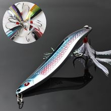 TOMA 4pcs/lot Fishing Spoons Metal Fishing Lures Zinc Spinner Bait 2015 New Arrival Hard lures fishing tackle 90mm 25g(China)