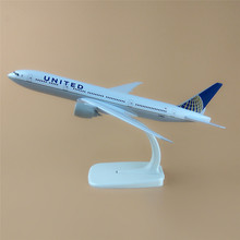 20cm Metal Alloy Plane Model Air UNITED Airlines Boeing 787 B787 Airways Airplane Model w Stand Aircraft  Gift