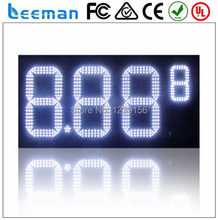 outdoor led gas price sign/led digit 8 display, led gas price sign