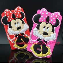 For Nokia XL Case Hot Minnie Mickey Smile Face Cartoon Soft Silicone Back Skin Cover Case for Nokia XL Dual SIM RM-1030 RM-1042