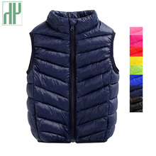 HH baby girl vest Winter Spring waistcoat boy kids vests warm autumn sleeveless jacket Baby Outerwear Coats 1 5 8 10 12 Year