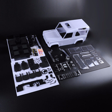 D90 Hard Plastic Body Kit EP 4WD For 1/10 RC Cars Crawler Xtra Speed Models