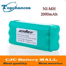 US High Quality 14.4V 2000mAh Ni-MH Replacement Vacuum Battery for Libero Vacuum 0606004 M606 14.4 Volt(China)