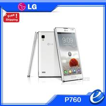 "LG P760 Optimus L9 unlocked White 4.7"" IPS LCD 4GB Android 4.0 Dual-core 1GHz 3G GPS WIFI 5MP SMARTPHONE Factory Refurbished"