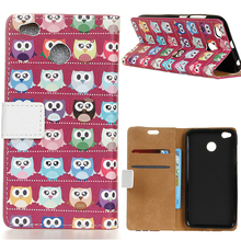 For Xiaomi Redmi 4X Stand Leather Case Air Mail Cartoon Owl Wallet Leather Case With 2 Card Slots For Xiaomi Redmi 4X