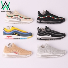 Buy New Color Mini Silicone Max 97 Keychain Woman Bag Charm Men Kids Key Ring Gifts Sneaker Accessories Shoes Key Chain for $1.43 in AliExpress store