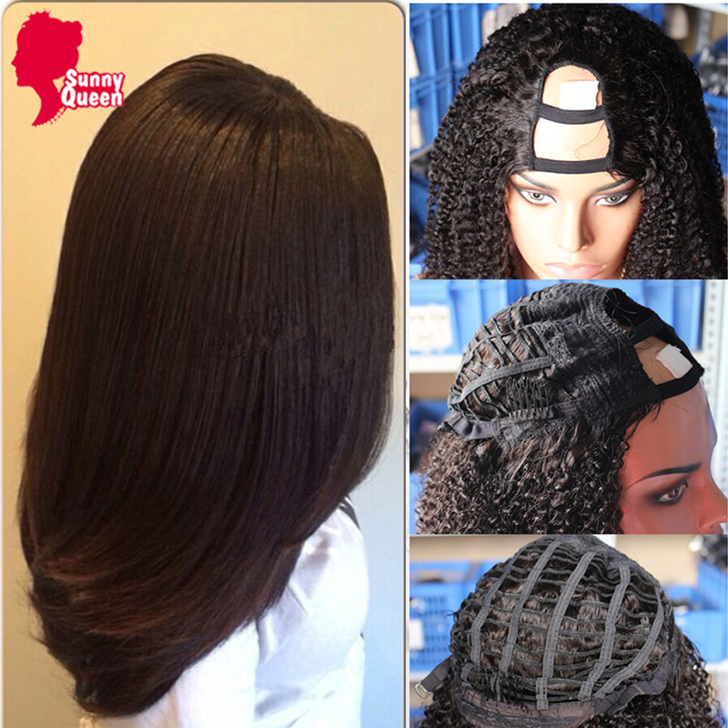 8A U Part Italian Yaki Full Lace Human Hair Wigs For Black Women Brazilian Virgin Hair Italian Yaki Lace Front Human Hair Wigs<br><br>Aliexpress
