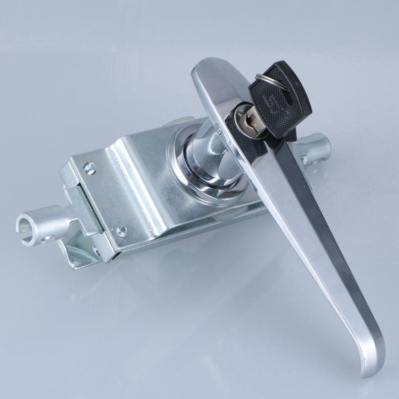 free shipping Connecting rod lock distribution cabinet door switchgear door knob pull lock industrial box lock Control handle<br>