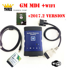 GM MDI wifi hdd 2017.2 version Multiple Diagnostic Interface gm mdi Diagnostic Tool with free DHL Shipping(China)