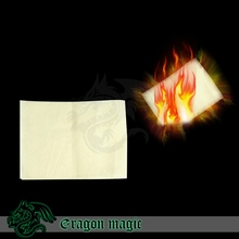 Magia Paper Stage Magic Tricks Free Shipping Professional Props for Magician Only(China)