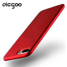 Oicgoo Soft TPU Ultra-thin Cover Case For iphone 7 7 Plus 6 6S Luxury Phone Silicone Cases For iphone 6 6s plus Cover Red Case