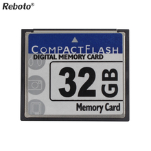 Reboto Newest CF Card 64GB Storage Card 2GB 4GB 8GB 16GB 32GB Compact flash digital memory TF Card For Canon Nikon