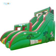 Sea Shipping Tropical Giant Commercial Inflatable Fun City Jumping Castles Water Slide