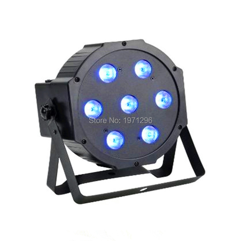 RGB 3IN1 led flat par  light 7x9W dmx dj stage lighting for wedding party good quality fast&amp;free shipping<br><br>Aliexpress