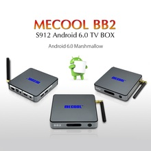 MECOOL BB2 4K UHD Smart Android 6.0 TV Box Set-top Box Octa Core 2GB 16GB 4K Amlogic S912 ROM Smart tv box WiFi Media Player AU