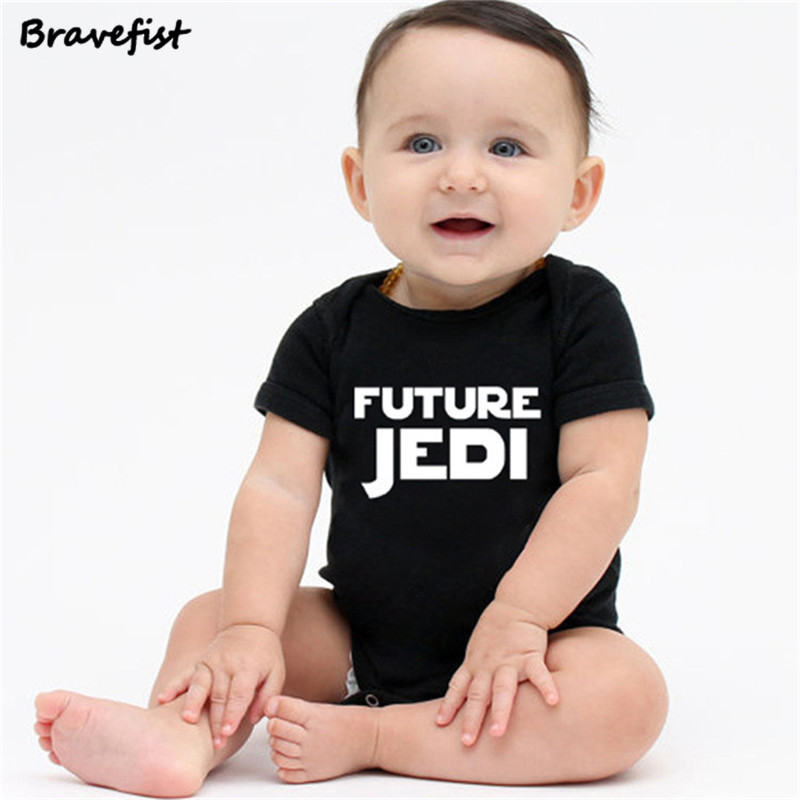 Newborn Star Wars Baby Clothes Cotton Romper Playsuit Sunsuit Outfits Infant Boys Girls Summer Rompers Costume 0-24M JEDI Print(China)