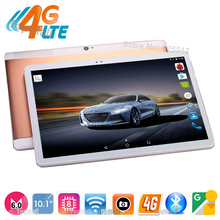 DHL Free Shipping ! Android 6.0 OS 10 inch Octa Core Tablet 4GB RAM 32GB ROM 3G 4G LTE Tablet 8 Cores Kids Gift MID GPS Tablets