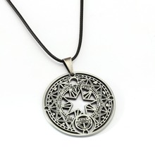 Cardcaptor Sakura Necklace KINOMOTO SAKURA Magic Circle Pendant Girl Gift Anime Jewelry Accessories YS11890