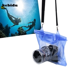 kebidu Digital Camera DSLR SLR Bag Case Outdoor 20M Underwater Waterproof Housing Case Pouch Dry Bag For Canon Nikon Camera(China)