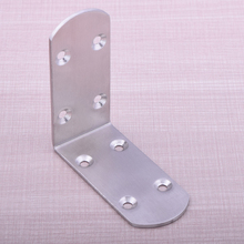 85mm*85mm Stainless Steel 8 Holes Frame Corner Bracket Furniture Accessories for Jewelry Box Feet Good Quality
